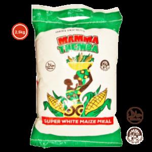 Zesto Group - Super White Maize Meal 2.5kg